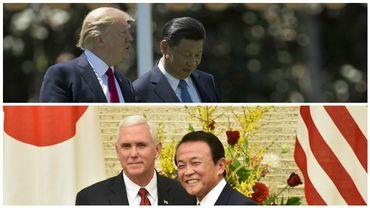 La Corée du Nord menace, Trump soutient la Chine et Pence rassure Tokyo