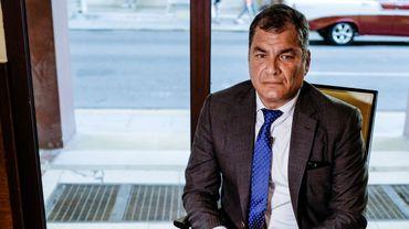L'ancien président équatorien Rafael Correa