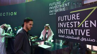Le forum international sur l'investissement (Future Investment Initiative) de Ryad, le 22 octobre 2018