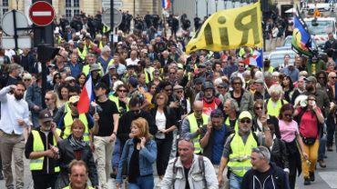 Gilets jaunes français: la mobilisation au plus bas à la veille des Européennes