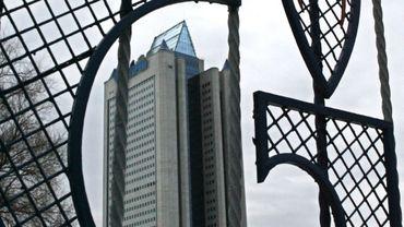 Le quartier général de Gazprom à Moscou