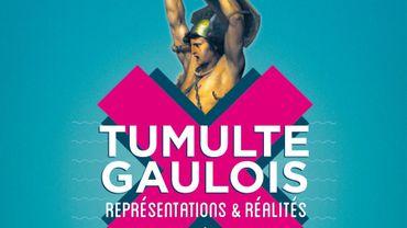 """Affiche de l'expo """"Tumulte gaulois"""""""