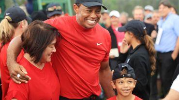 Tiger Woods et son fils Charlie bientôt en duo sur le green.