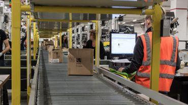 L'e-commerce emploie beaucoup de travailleurs dans la logistique