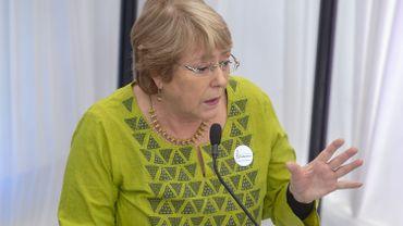 L'ex-présidente chilienne Bachelet devrait prendre la tête des droits de l'homme de l'ONU