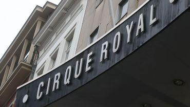 La façade du Cirque royal