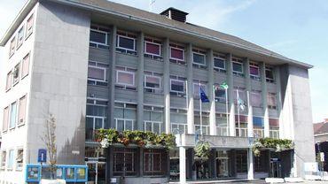 L'Hôtel de Ville de La Louvière.