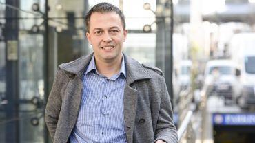 Egbert Lachaert, député Open VLD et président du CPAS de Merelbeke