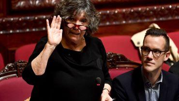 Simone Susskind (PS) prête serment comme sénatrice