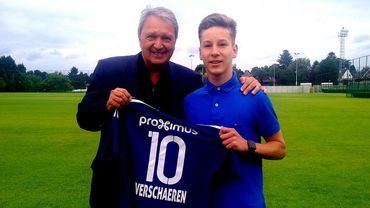 Yari Verschaeren signe son premier contrat pro avec Anderlecht