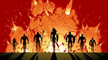 Les super-héros sont plus violents que les méchants dans les films