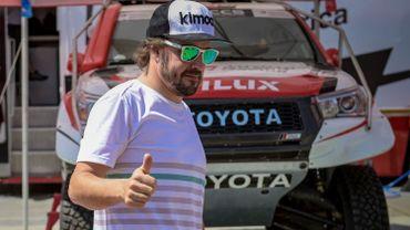 Alonso au Rallye du Maroc pour préparer le Dakar