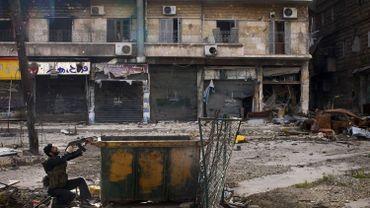 Alors que les bombardements du régime continuent à Alep, la trêve conclue en banlieue de Damas, la capitale syrienne, a été brisée