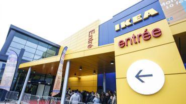 100 à 120 emplois menacés chez Ikea Belgique
