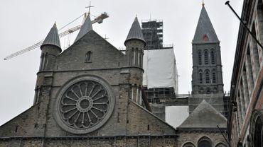 La cathédrale de Tournai, inscrite au patrimoine mondial de l'Unesco