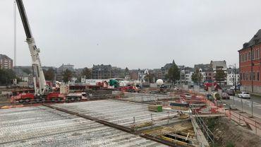 Namur : le chantier du Grognon avance