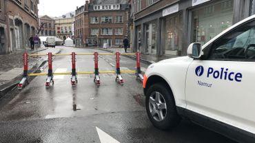 Cette barrière a déjà été utilisée à Mons pour le Doudou