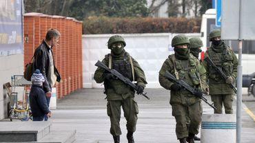 """Occupations en Crimée: une """"invasion"""" pour le ministre ukrainien de l'Intérieur"""
