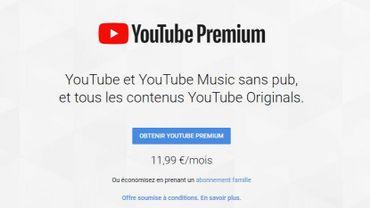 L'application musicale de Youtube débarque en Belgique