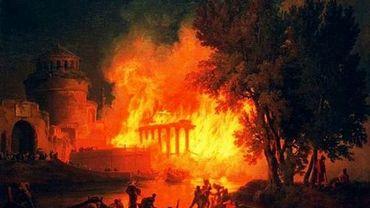Le grand incendie de Rome en 64 ACN: 10 jours, 250 000 victimes et une rumeur