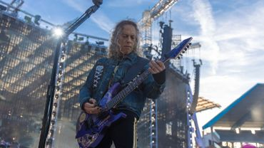 Metallica: live filmé à Bruxelles