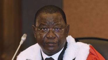 Le président burkinabé du tribunal, Gberdao Gustave Kam.
