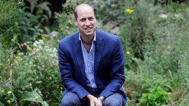 Le prince William à Peterborough, le 16 juillet 2020