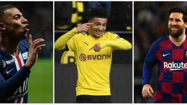 Jadon Sancho, Kylian Mbappé, Lionel Messi ces joueurs qu'il faut rapidement prolonger