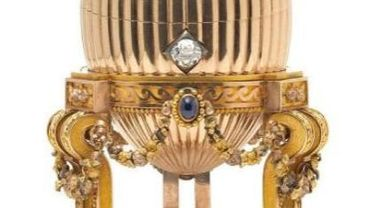Un oeuf Fabergé impérial retrouvé sur un marché aux puces des Etats-Unis