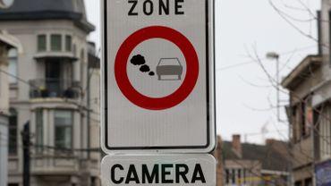 Zone de basse émission à Bruxelles: 3/4 des véhicules sanctionnés proviennent de Wallonie et de Flandre