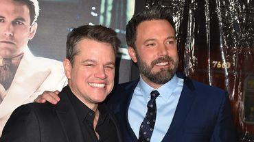 Matt Damon et Ben Affleck produiront un film sur un trafic de vignettes du jeu Monopoly organisé par McDonald's.