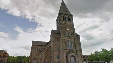 L'église Saint-Victor, à Sambreville.