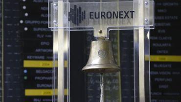 La vielle clochehistoriquechez Euronext,la Bourse de Bruxelles.