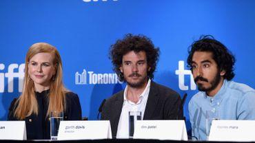 Nicole Kidman, Garth Davis et Dev Patel au Festival de Toronto