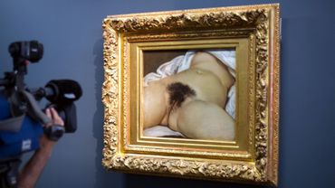 """L'origine du monde, de Gustave Courbet serait un """"portrait intérieur"""" de Constance Quéniaux"""