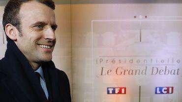 Présidentielle française: près de dix millions de téléspectateurs ont suivi le débat sur TF1