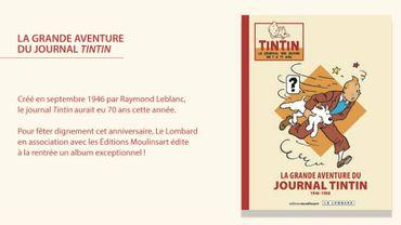 """La Grande Aventure du Journal Tintin"""