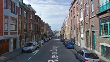 Parmi les rues concernées, la rue de Campine.
