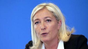 Marine Le Pen ne pourra pas interdire des listes wallonnes de porter son nom ou celui de son parti