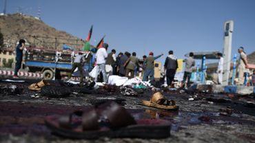 Afghanistan: 61 morts et plus de 200 blessés dans un attentat revendiqué par l'EI
