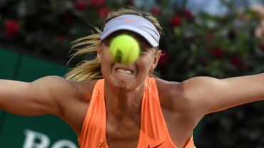 "La WTA ""pas d'accord"" avec le refus d'inviter Sharapova à Roland-Garros"