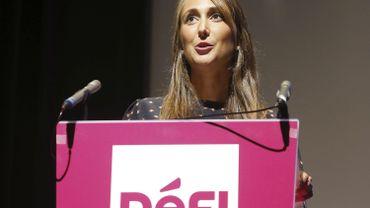 La présidente de DéFI pour la périphérie, Sophie Rohonyi.