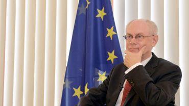 """Van Rompuy sur l'austérité: """"Pour sauvegarder la prospérité et l'emploi"""""""