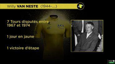 Ces Belges qui ont porté le maillot jaune: Willy Van Neste