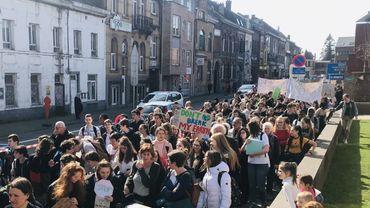 Manifestation pour le Climat: 800 élèves à Wavre, une mobilisation sans le soutien de l'école