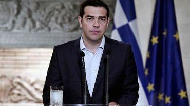 Le Premier ministre grec Alexis Tsipras, el 17 juin à Athènes