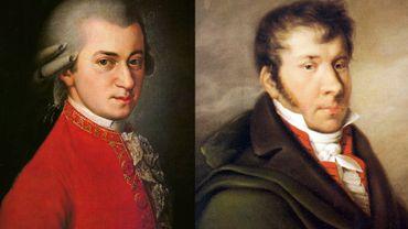 Mozart et son jeune élève, Johann Nepomuk Hummel