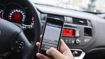 Forte hausse du nombre d'amendes pour utilisation du gsm au volant
