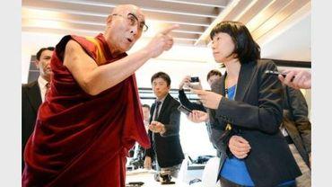 Le leader des Tibétains en exil, le dalaï lama, exhorte la Chine au changement d'attitude