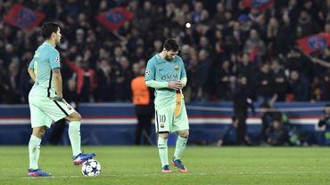 Luis Suarez et Lionel Messi
